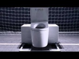 Toilet goalie TV ad